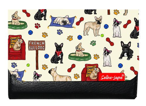 Selina-Jayne French Bulldog Limited Edition Designer Small Purse